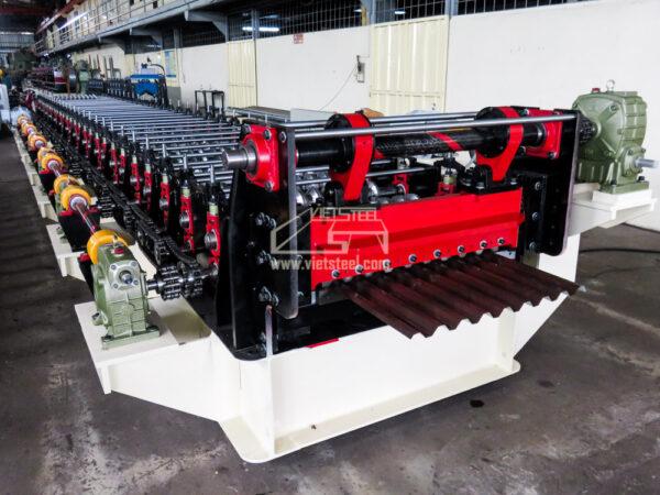 Roofing Roll Forming Machine (RF-EL Model) vietsteel