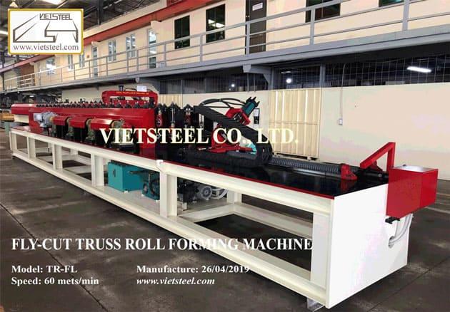 C Truss Roll Forming Machine - Fly Cut Vietsteel