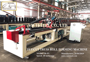 C Truss Roll Forming Machine Fly cut Vietsteel