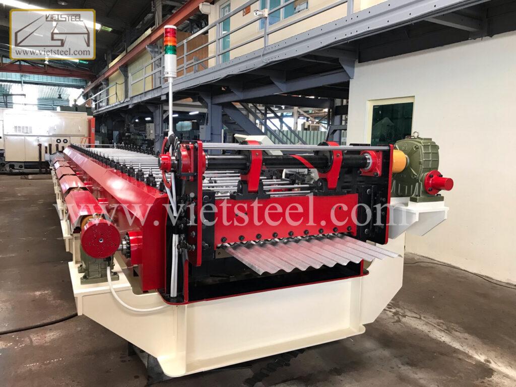 vietsteel Corrugated Roll Forming Machine (RC-SE Model)
