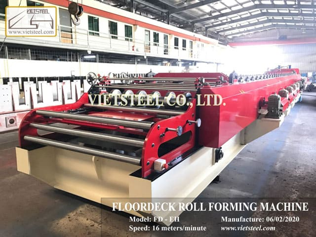 Floordeck Roll Forming Machine