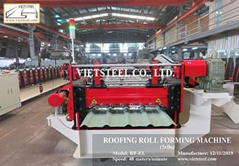 ROOFING ROLL FORMING MACHINE – 5ribs (RF-EL Model)