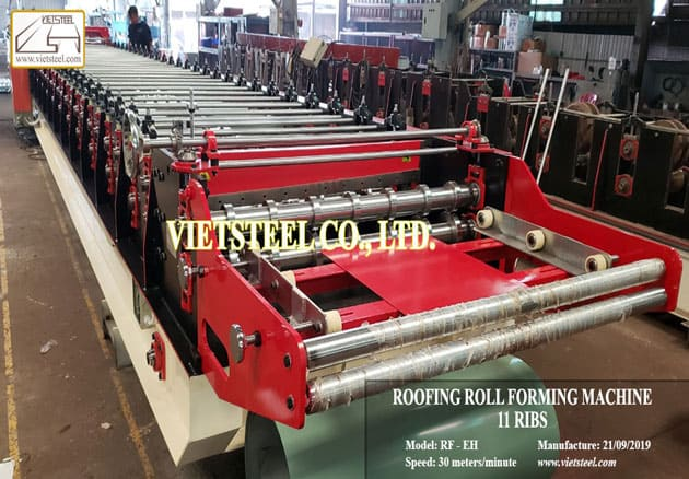 Roofing Roll Forming Machine 11 ribs