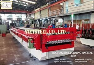 Roofing Roll Forming Machine - 11 ribs (RF-EH Model)