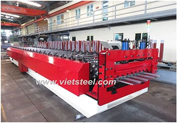 Roofing Roll Forming Machine – 5 ribs