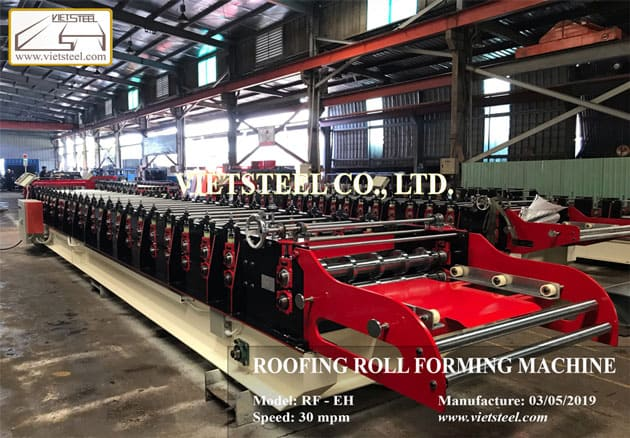 Roofing Roll Forming Machine – 9 Ribs