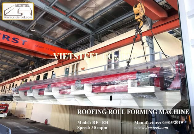 Roofing Roll Forming Machine – 9 Ribs profile