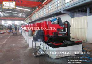 Smartshed manufacturing system