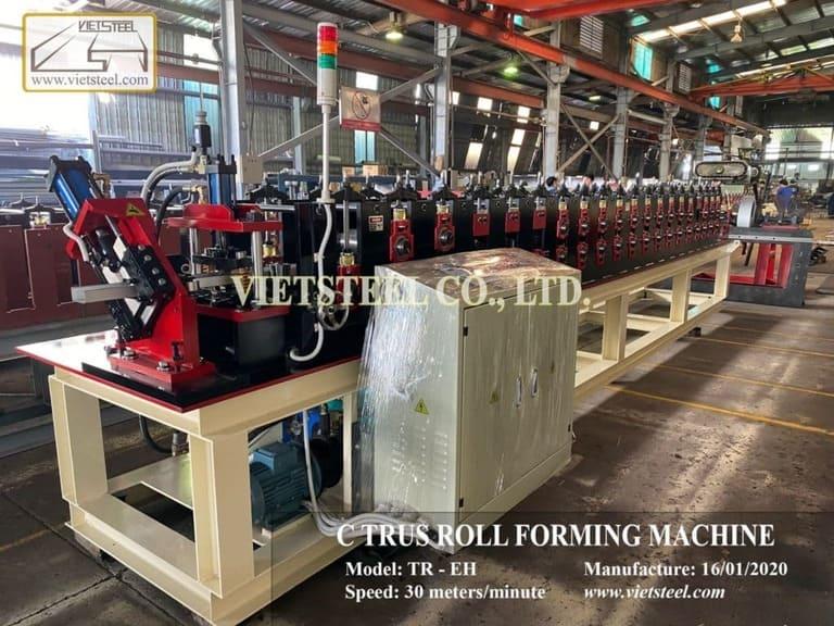C-truss Roll Forming machine (TR-EH Model)
