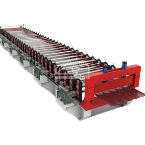 Vietsteel Roofing Roll Forming Machine (RF-EH Model)