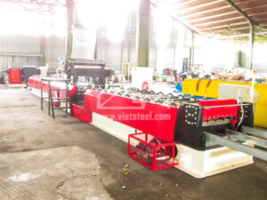 Vietsteel Roofing Roll Forming machine with PE