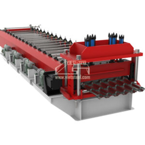 Vietsteel Step tile Roll Forming Machine