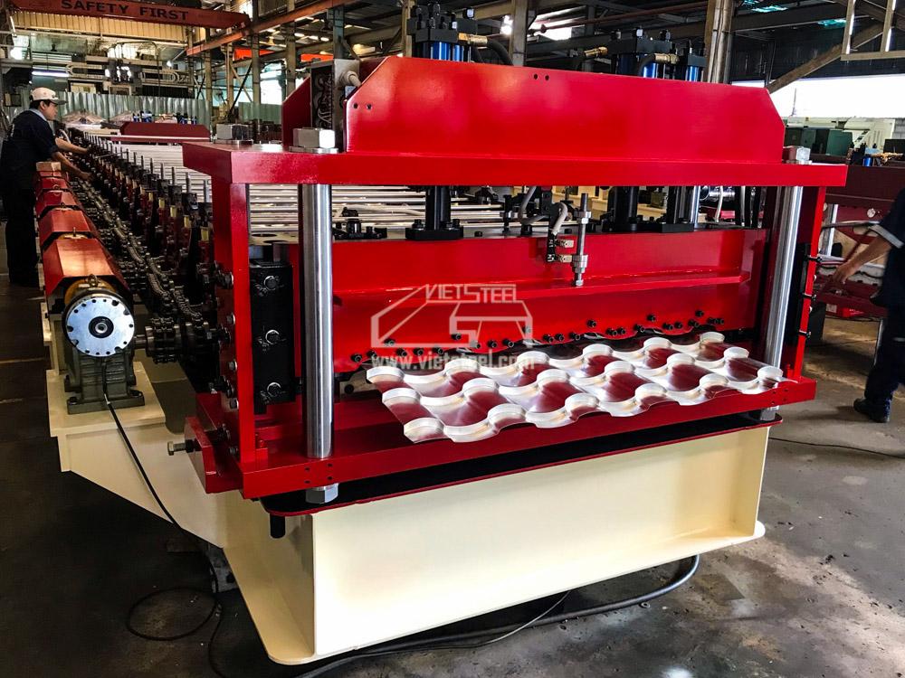 Vietsteel Step tile Roll Forming Machine