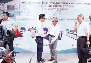 Công nghệ mới xây dựng nhà khung thép chỉ với 2 nhân công