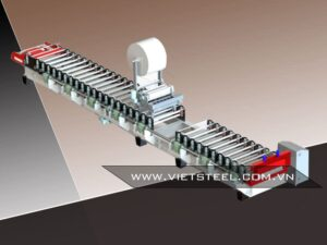 roofing roll forming machine with pe stick