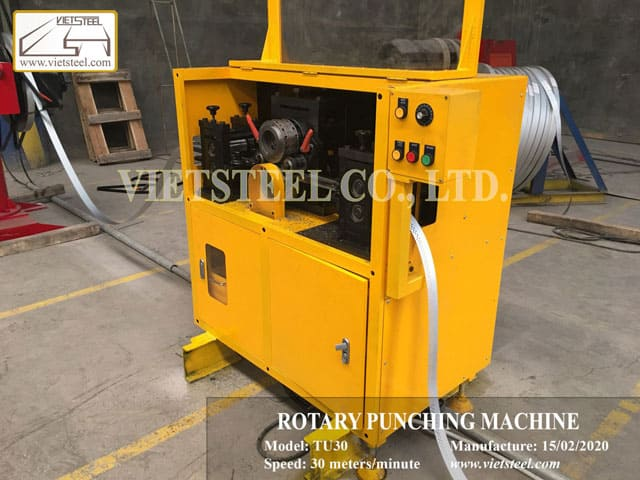 Rotary Punching Machine - New technology