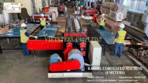 Barrel Corrugated Roll Forming Machine
