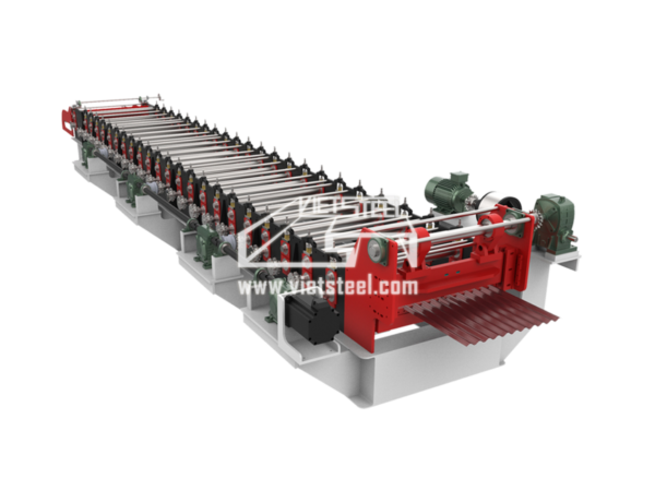 Vietsteel Corrugated Roll Forming Machine