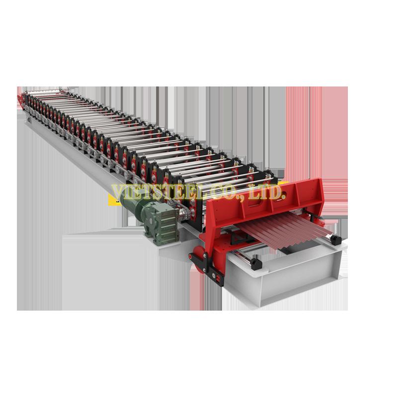 Corrugated Roll Forming Machine (RC-FR Model)