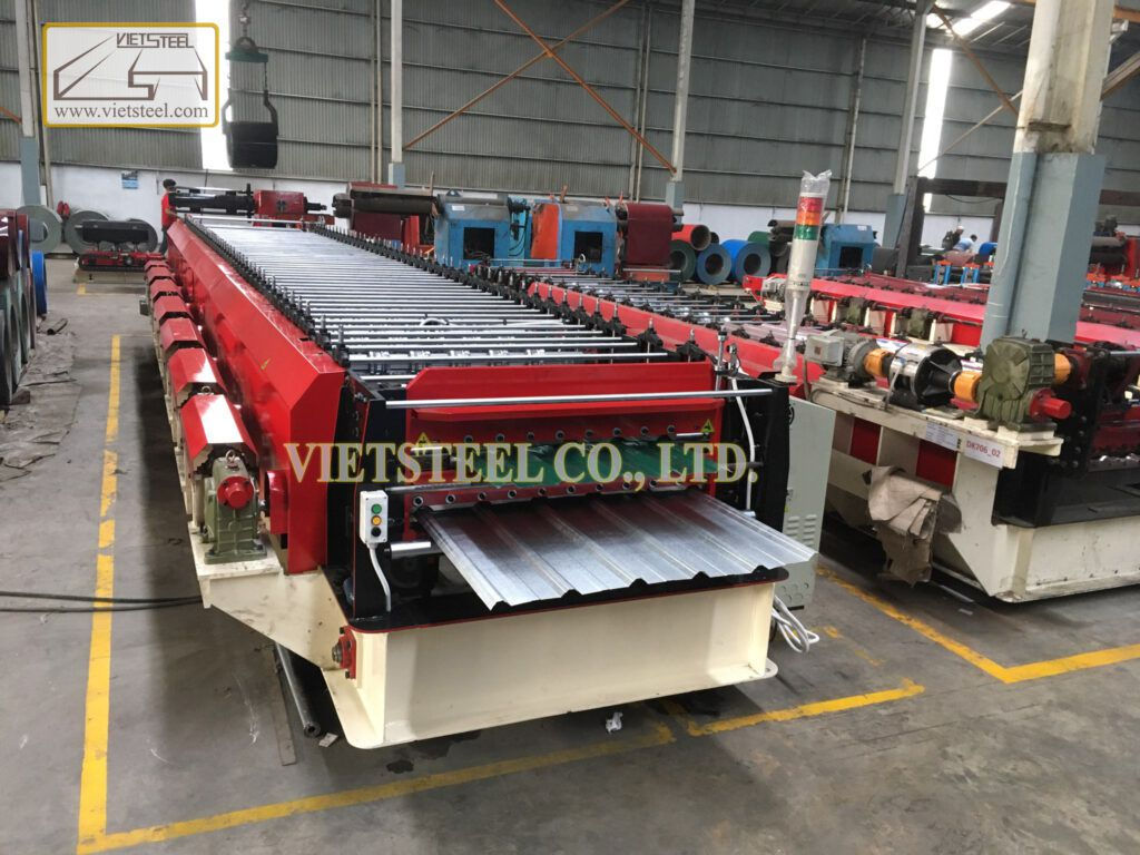 Double Deck Roll Forming Machine (DR-EH Model)