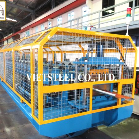 LOUVER ROLL FORMING MACHINE