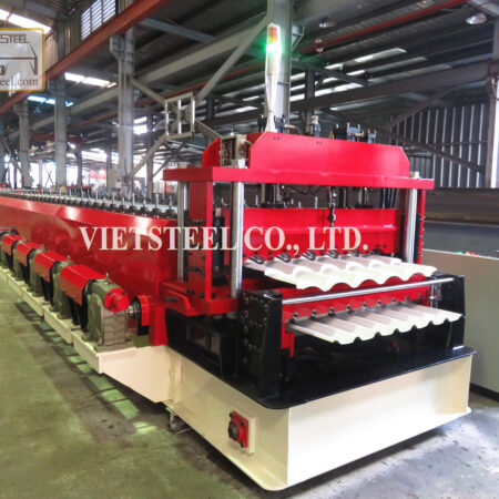 DOUBLE DECK ROLL FORMING MACHINE (DS-SH MODEL)