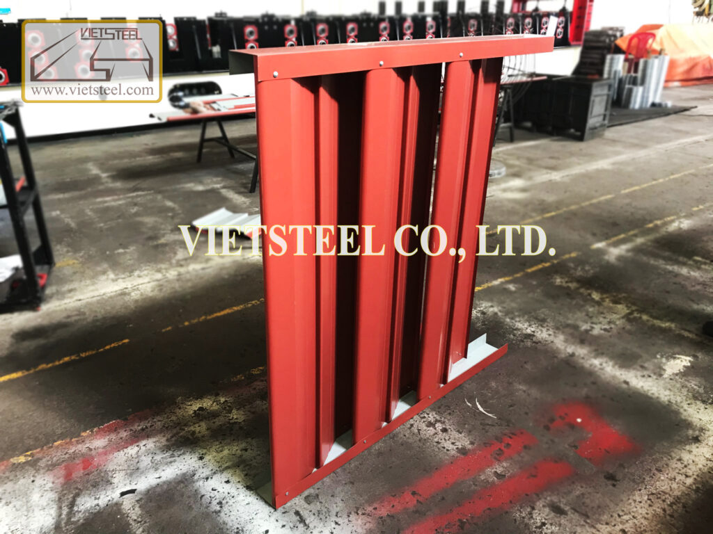 Vietsteel LOUVER ROLL FORMING MACHINE