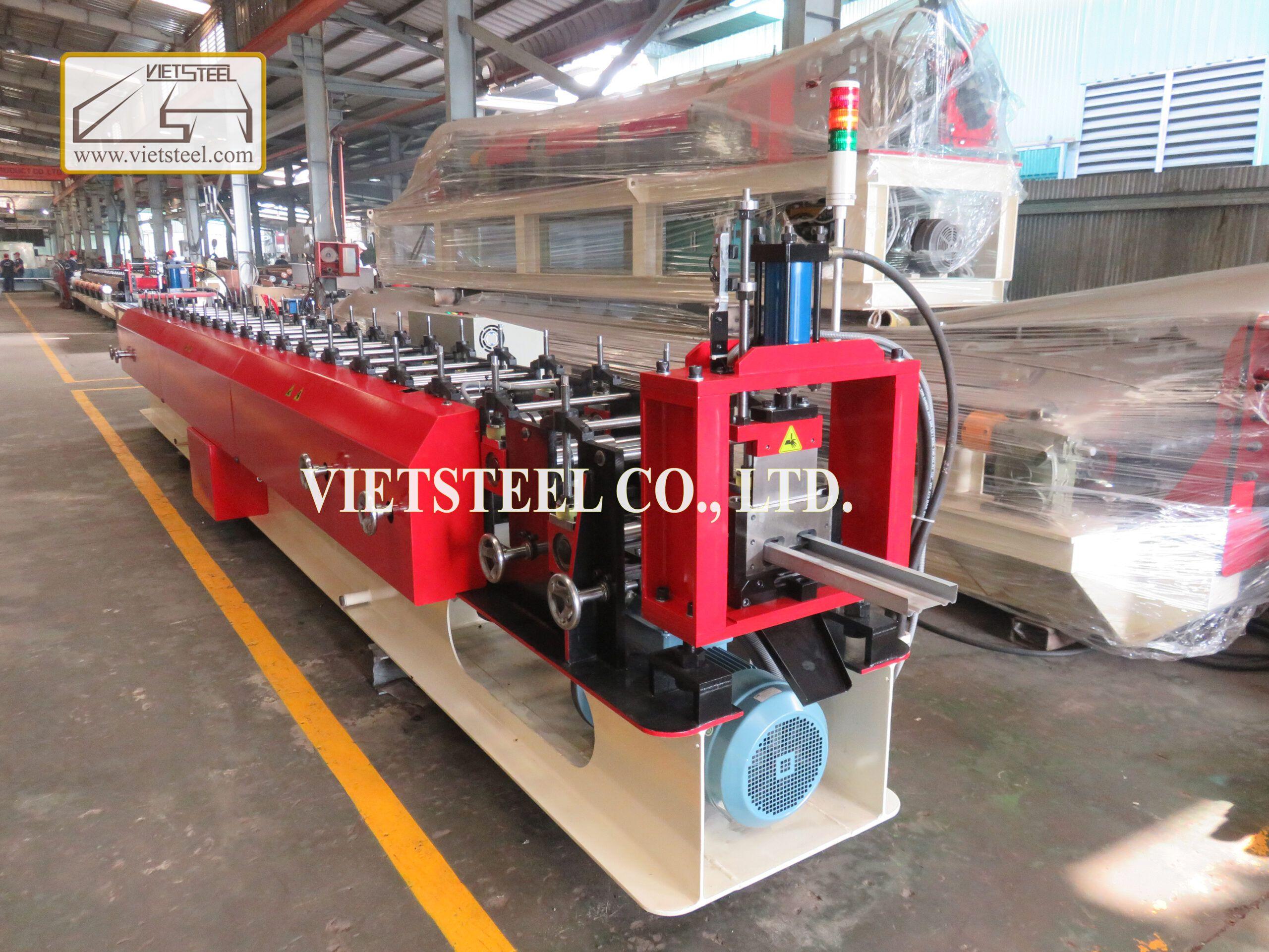 TRAILER - STEEL PURLINS ROLLING MACHINE LINE