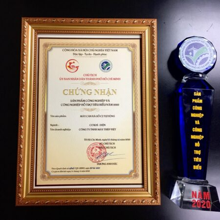 Vietsteel have got Certificate of Typical Industrial and Supporting Industries products 2020