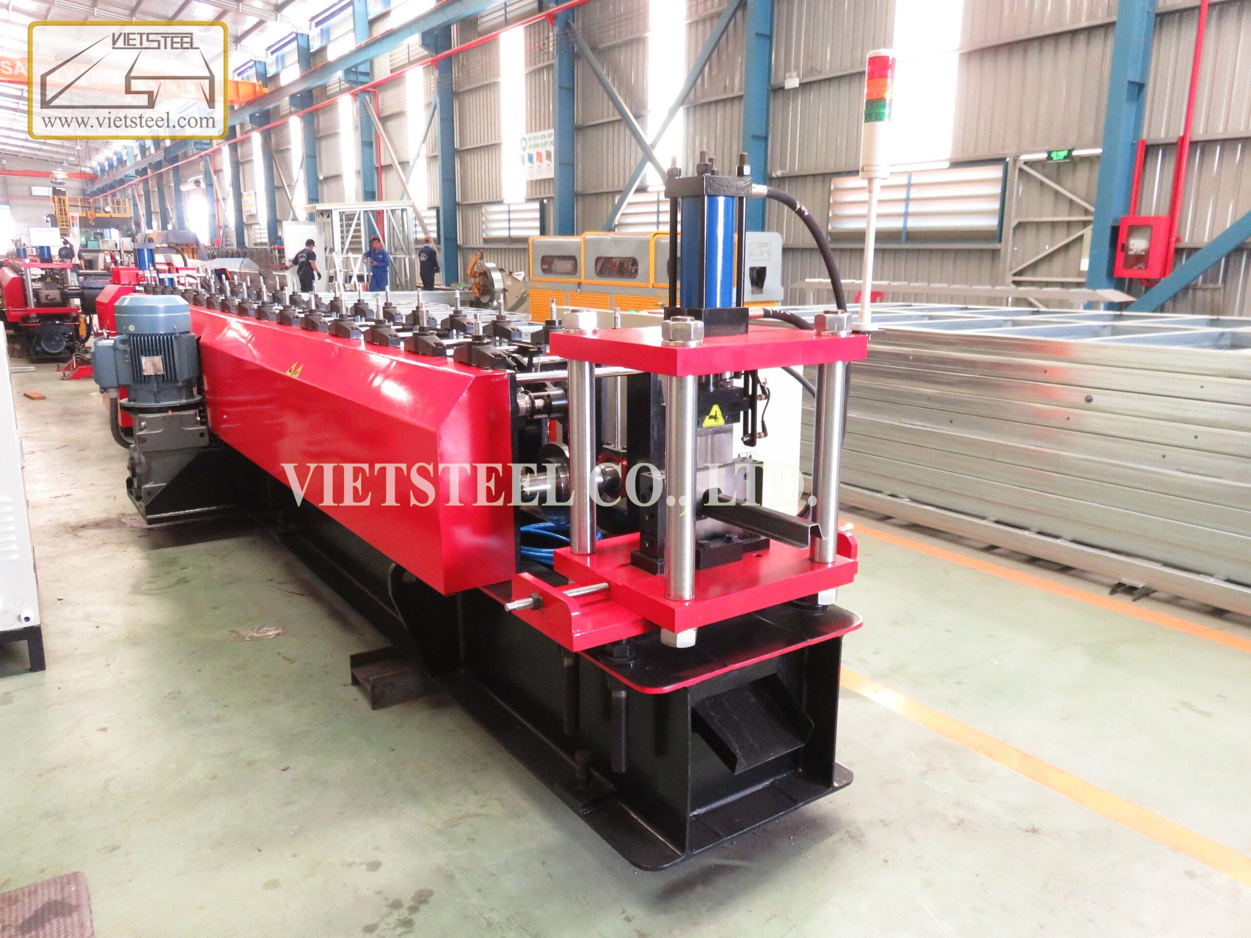 Vietsteel Truck side mounting roll forming machine – Underneath bar