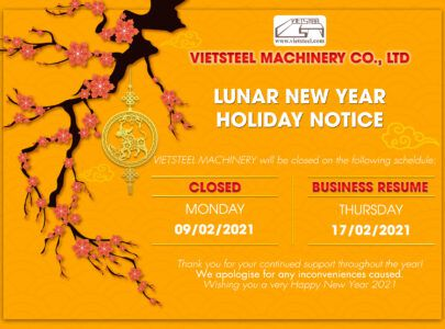 LUNAR NEW YEAR HOLIDAY NOTICE