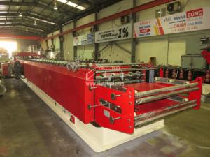 Vietsteel Double deck Roll Forming Machine