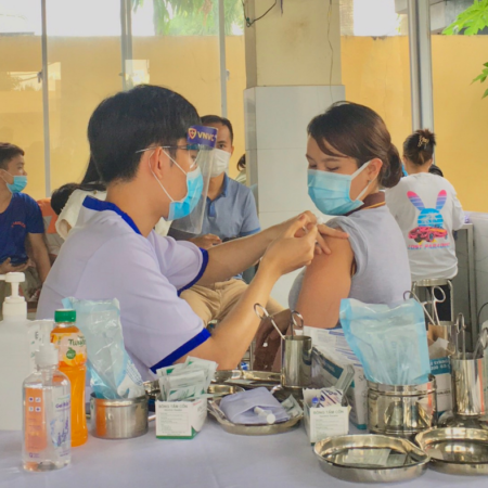 All Vietsteel employees have been vaccinated against Covid-19