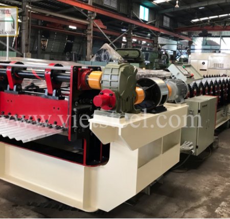A Review of Corrugated Roll Forming Machines