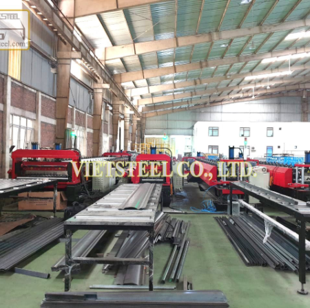 Opening a roll forming metal factory