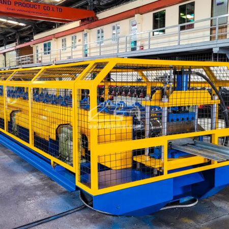 Floordeck Roll Forming Machine – New profile for an Australian customer